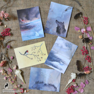 "Postcards ""Winter"""