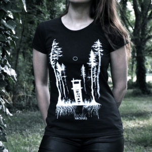Einsamkeit // Archaïq. // Black T-Shirt (Female)