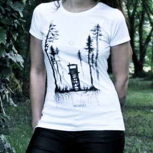 Einsamkeit // Archaïq. // White T-Shirt (Female)
