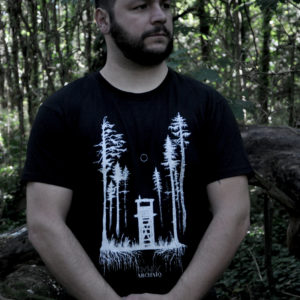 Einsamkeit // Archaïq. // Black T-Shirt (Male)