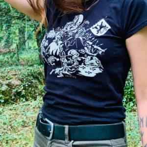 Bataille Des Éperons d'Or // Archaïq. // T-shirt Homme & Femme