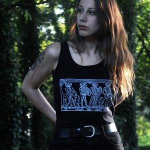 Danse Macabre // Archaïq. // Black Tank Top (Female)