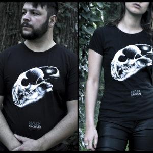 Bear Skull // Archaïq. // Black T-Shirt (Male)